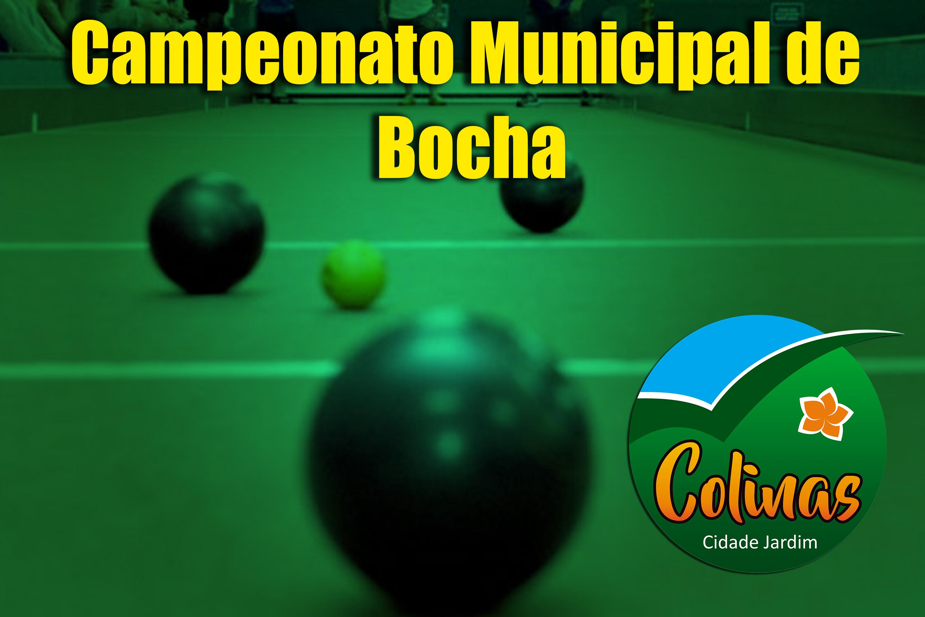 Campeonato Municipal Interbairros de Bocha começa...
