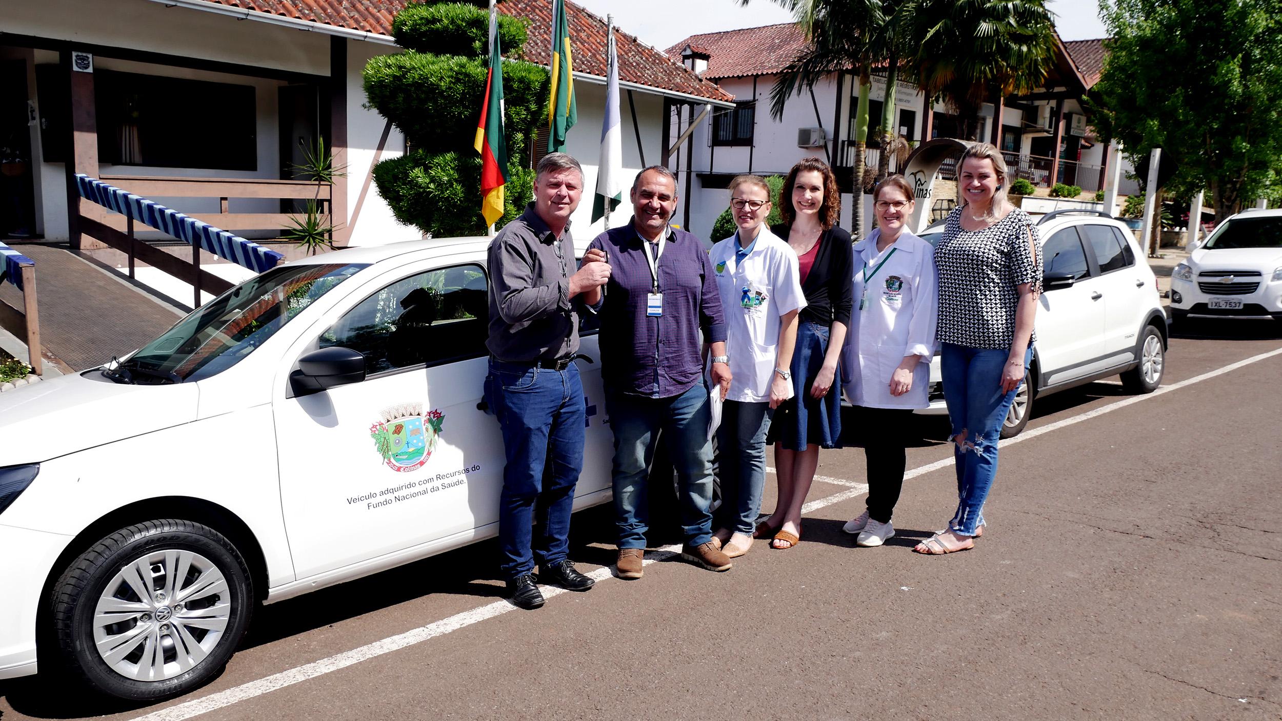 Colinas recebe automóvel para a Saúde